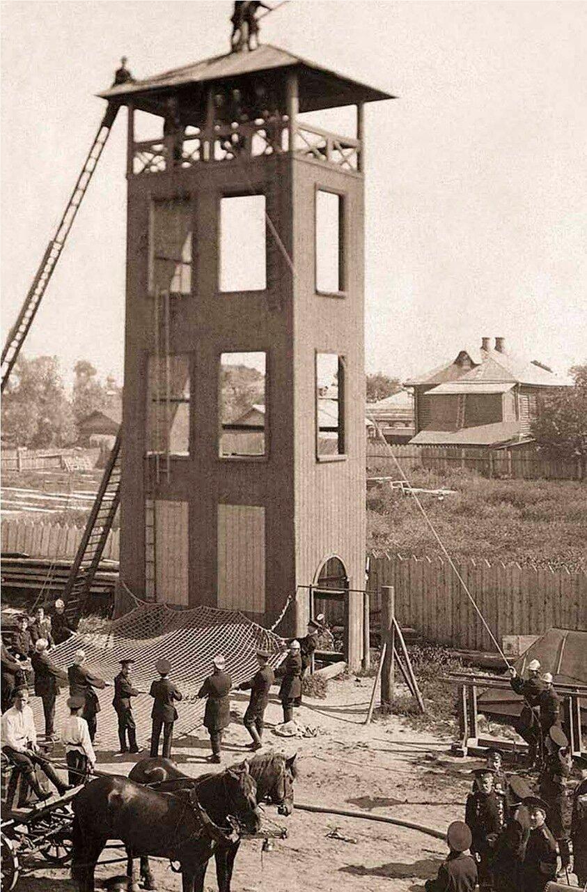 Башня учебного городка