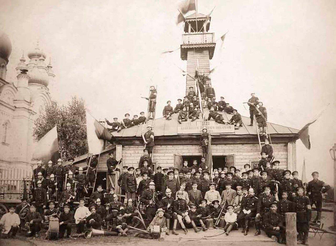 1912. Бологовское Вольное Пожарное Общество. Новгородская губерния