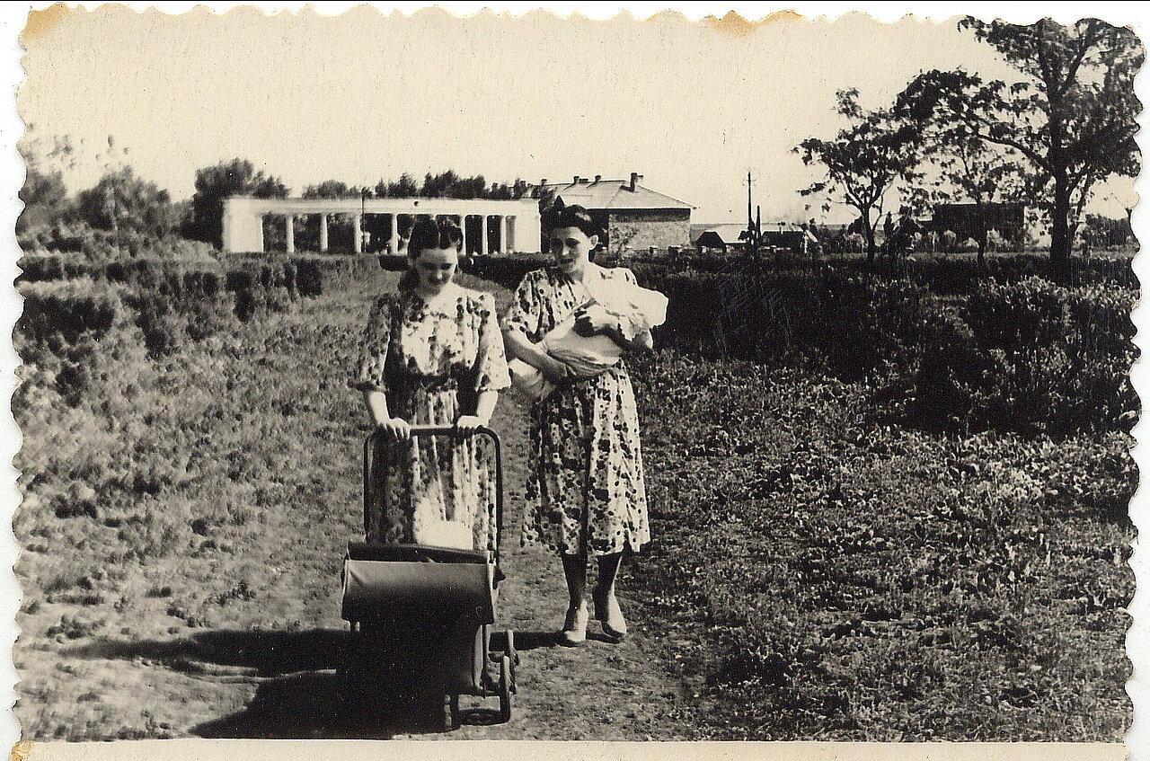 1952. Прогулка в парке