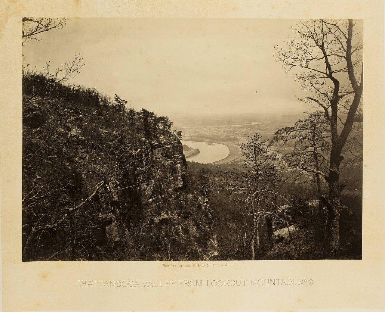 Вид с гор на долину Чаттануга, Теннесси. №2