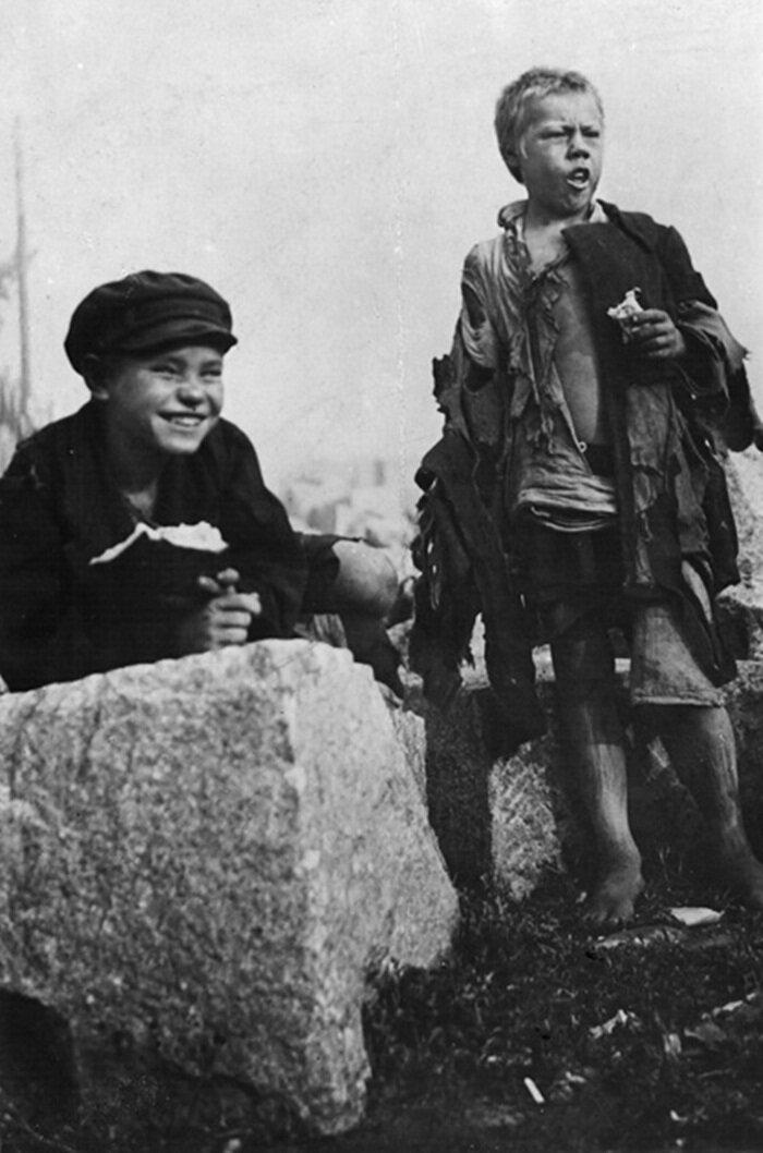 1922. Беспризорники. Москва