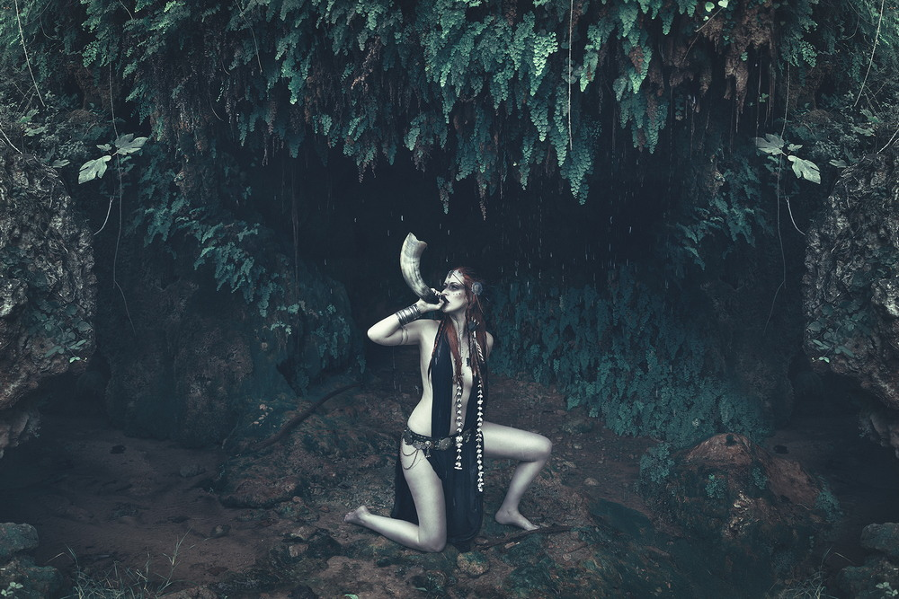 Снимки в жанре «Ню» Ребеки Сарай