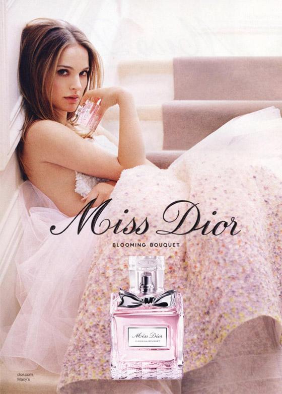 Натали Портман снялась в очередной фотосессии для Dior