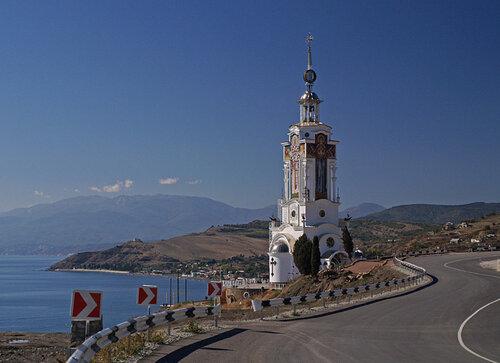 Церковь-маяк в Крыму