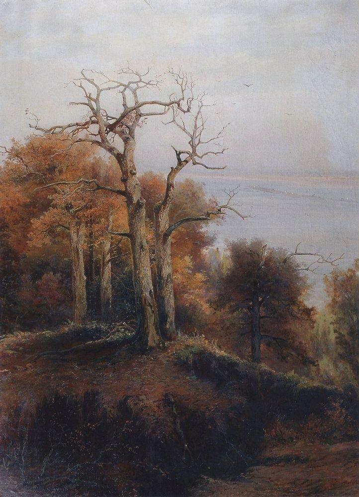 Осенний лес. Кунцево. Проклятое место. 1872.jpg