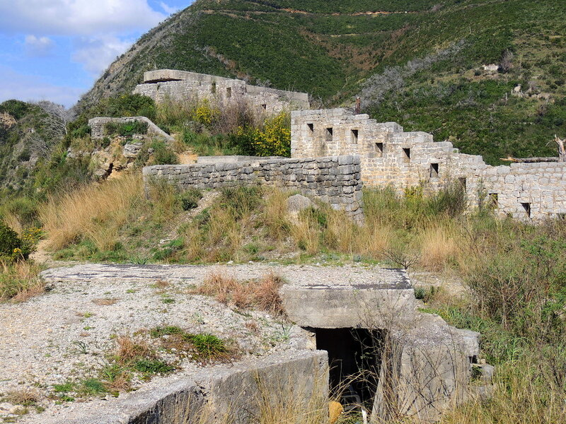 крепость Могрен над Будвой
