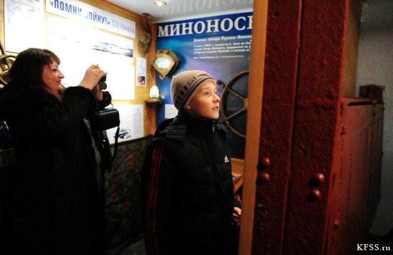Музей Ворошиловская батарея (батарея №981) на острове Русском