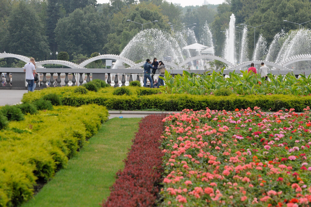 москве фото парки в красивые