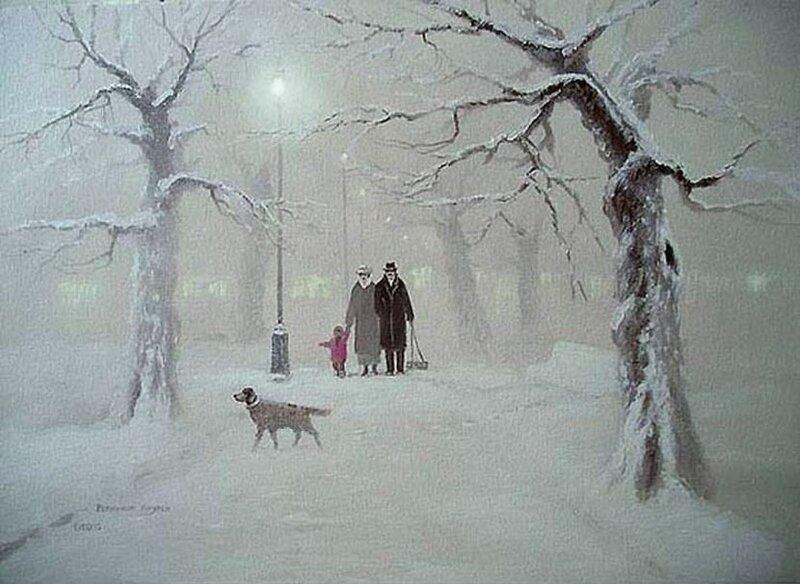 Андрей Репников. Зимний бульвар