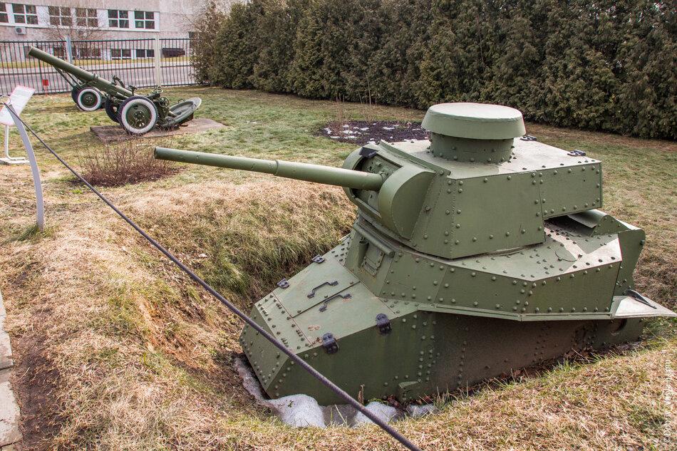 парк военной техники в тольятти фото