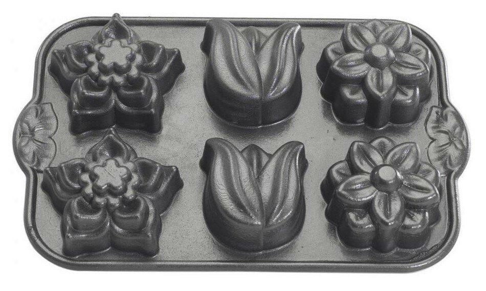 форма для кекса цветы