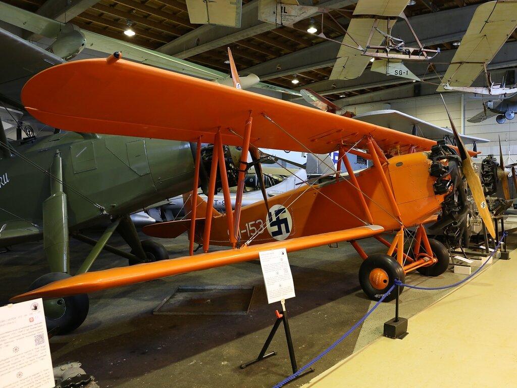 Letov S 218 A Smolik, training aircraft. Finnish Aviation Museum (Vantta)