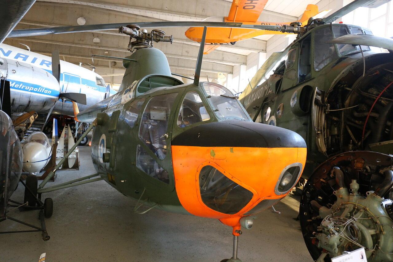 Aviation Museum Helsinki-Vantaa airport. The helicopter PLZ SM1SZ