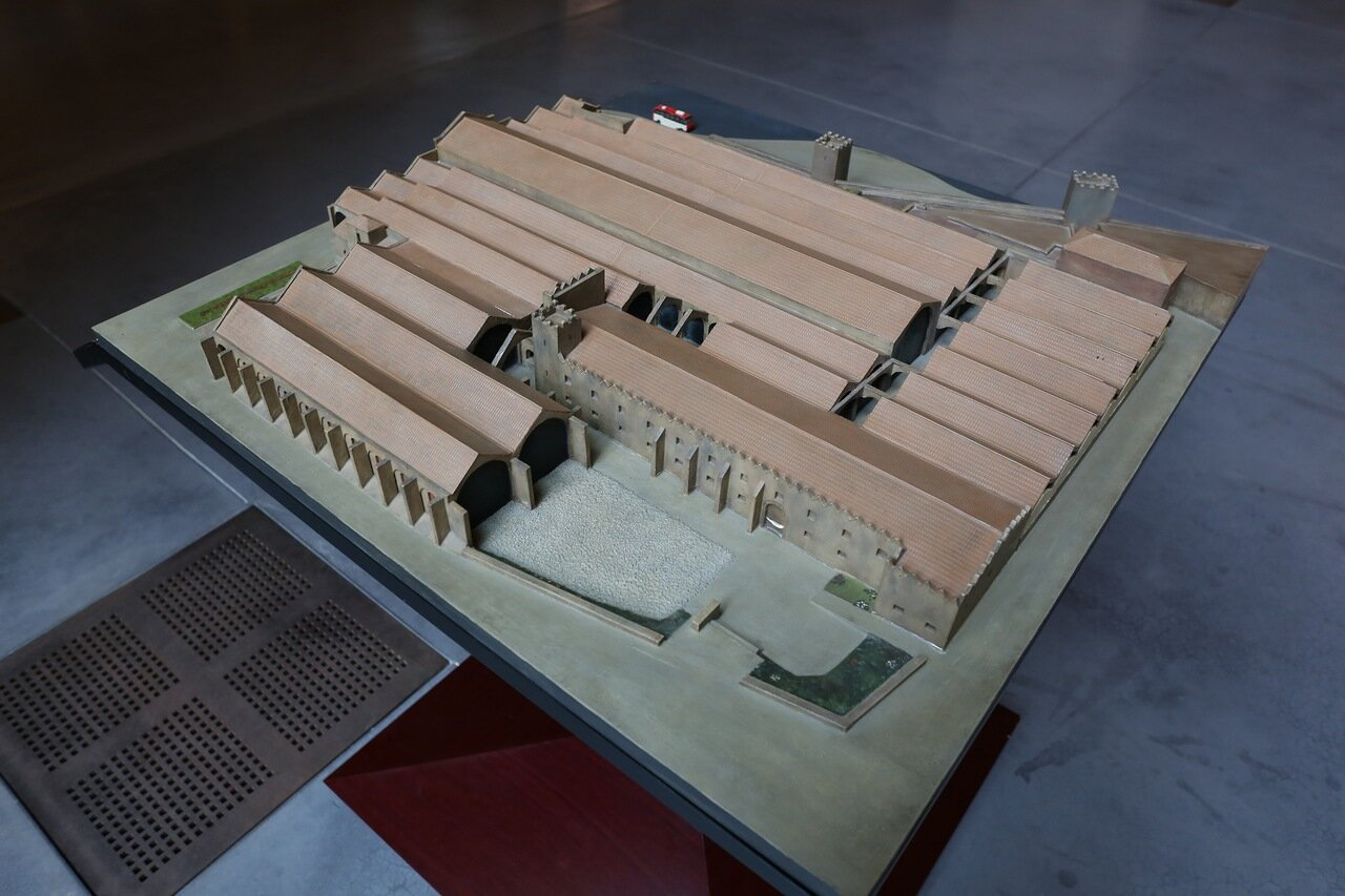 Maritime Museum of Barcelona. layout