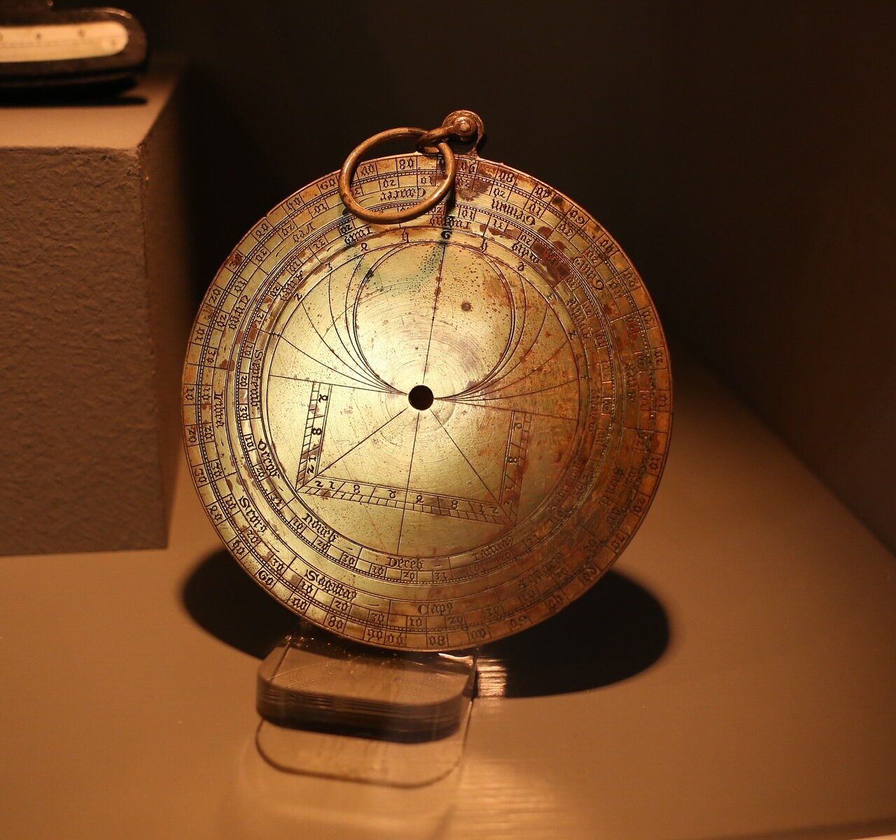 Maritime Museum of Barcelona. Astrolabe