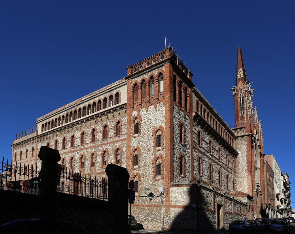 Tarragona. The monastery of the Carmelites Fathers. Carmelites Convent dels Pares
