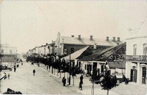 Дубно. Улица генерала Листовского