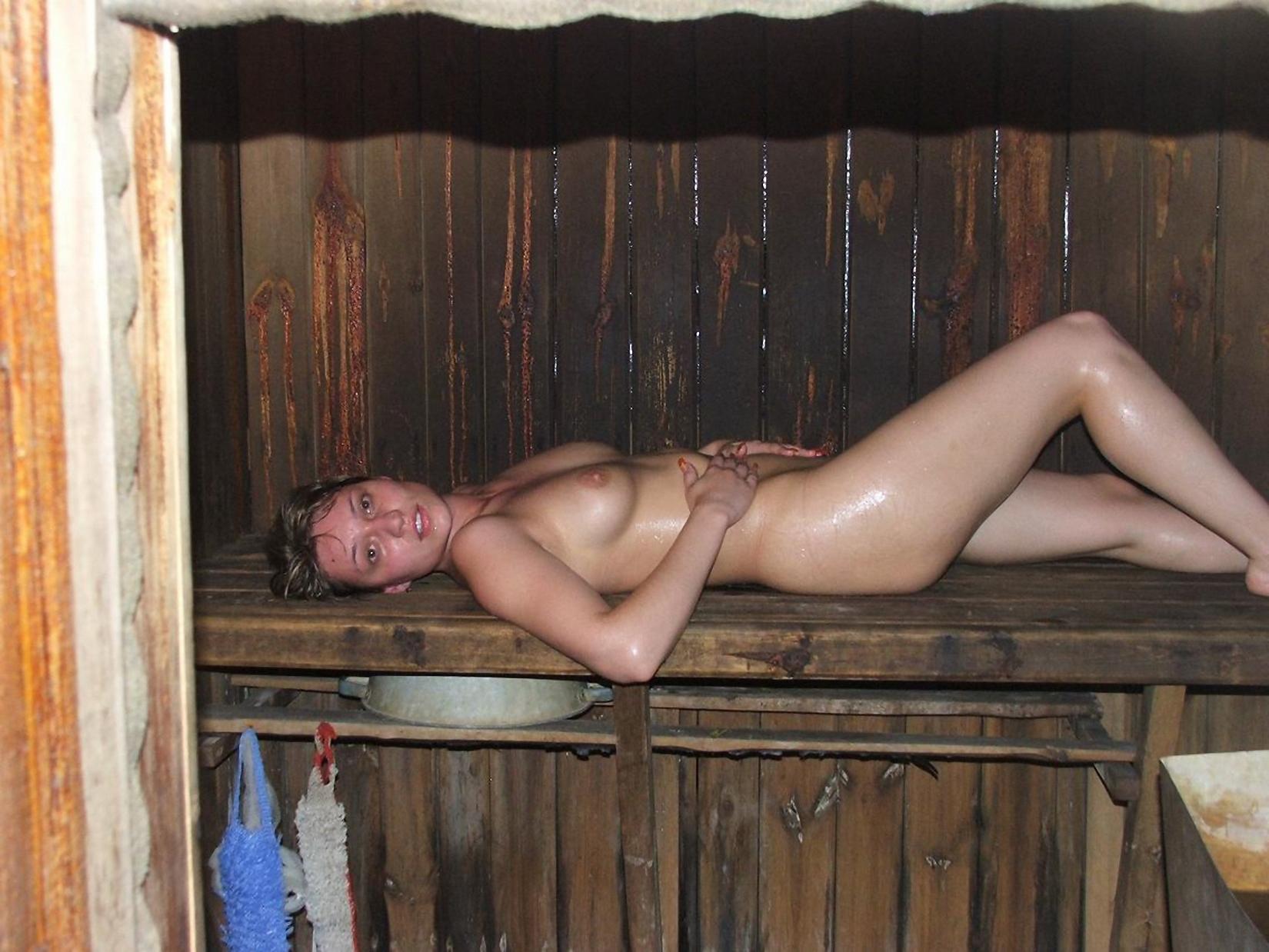 Фото ню в бане сауне 6 фотография
