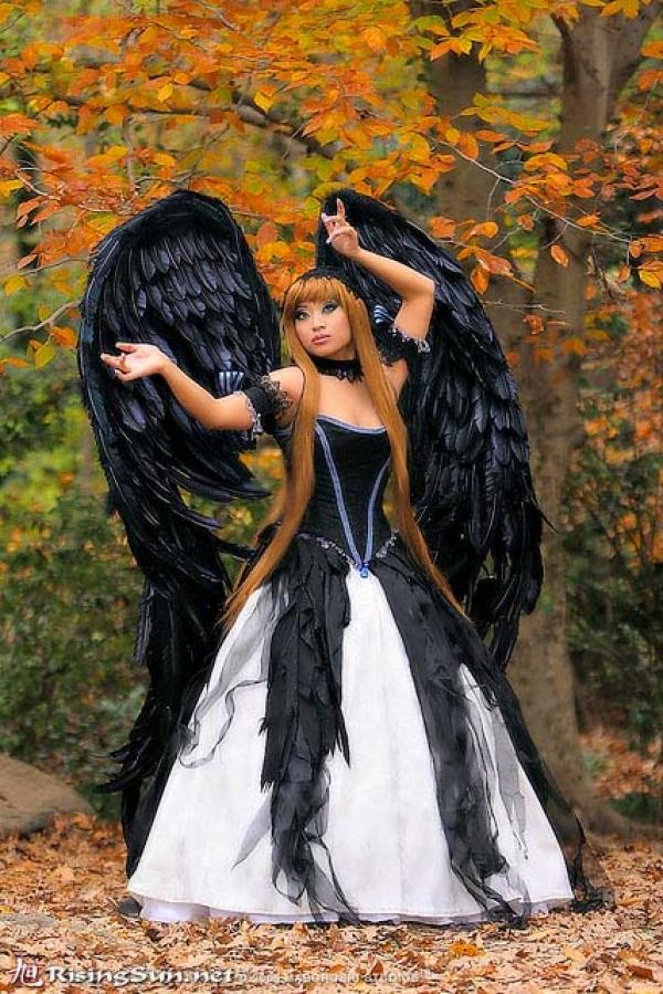 Костюмы для ангелов и демонов картинки