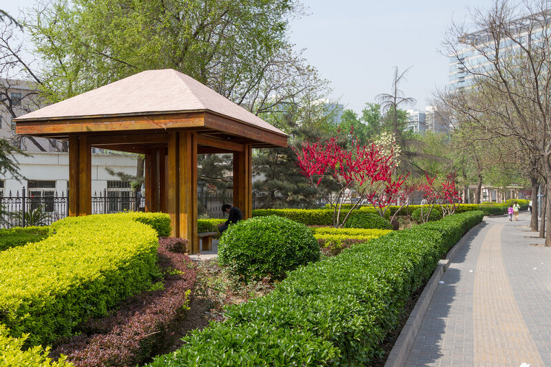 Беседка, Пекин