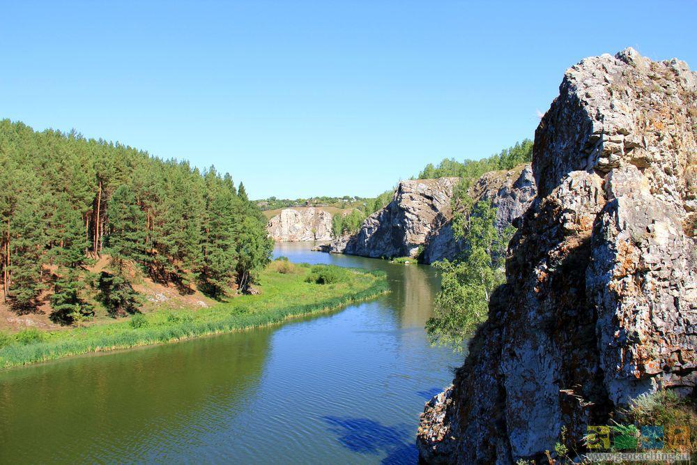 Река Исеть, порог Ревун