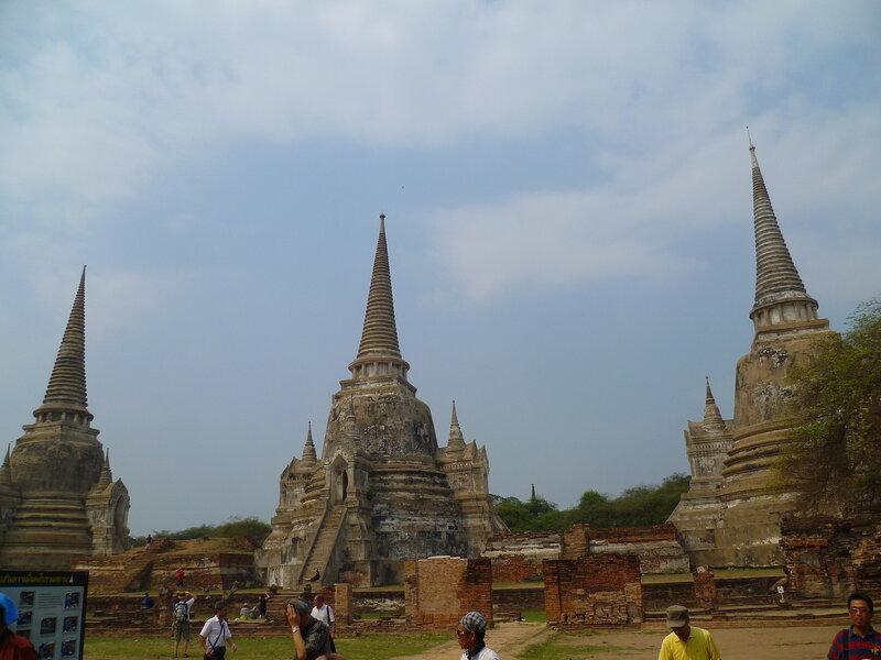 Таиланд, Аюттайя - Ват Пра Си Санпет (Thailand, Ayutthaya - Wat Phra Si Sanphet)