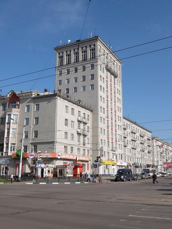 Новокузнецк - Знаменитая многоэтажка