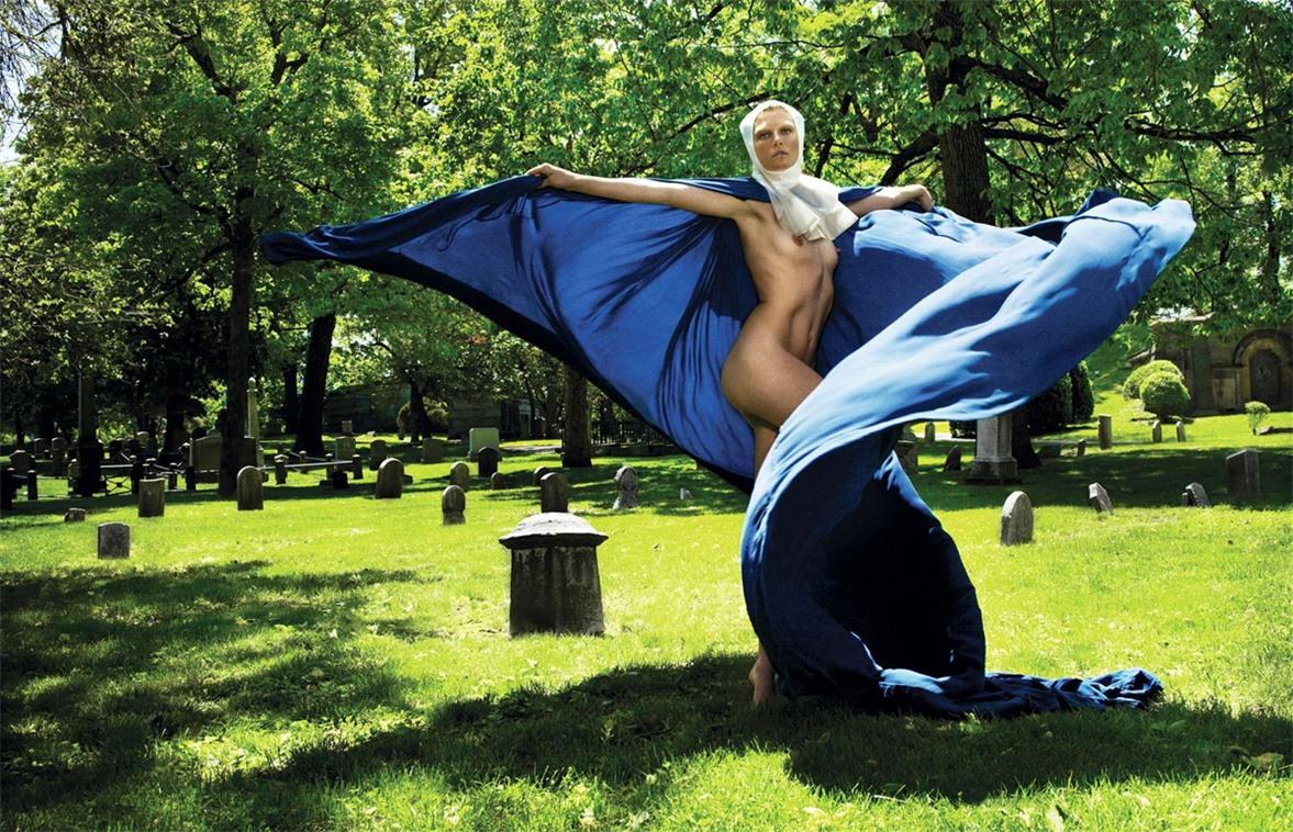 Сексуальные монахини / Nun Head by Sebastian Faena in POP Magazine FW 2008