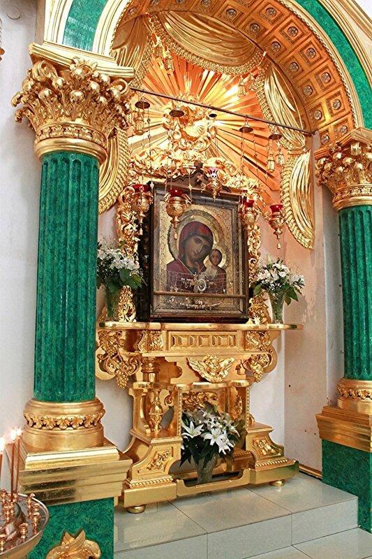Чудотворная Казанская икона Божией Матери