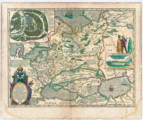 Карта царя Федора