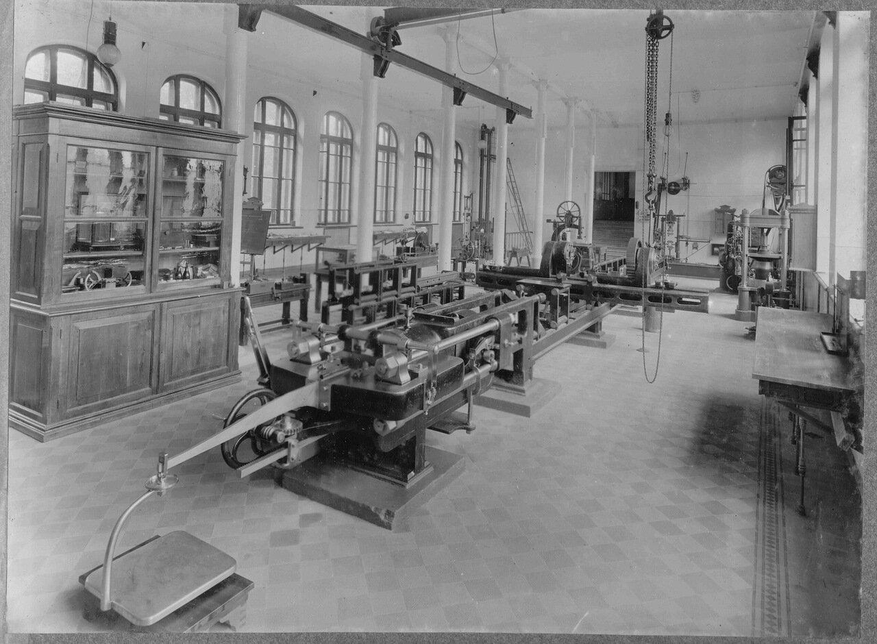 38. Механическая лаборатория по испытанию материалов