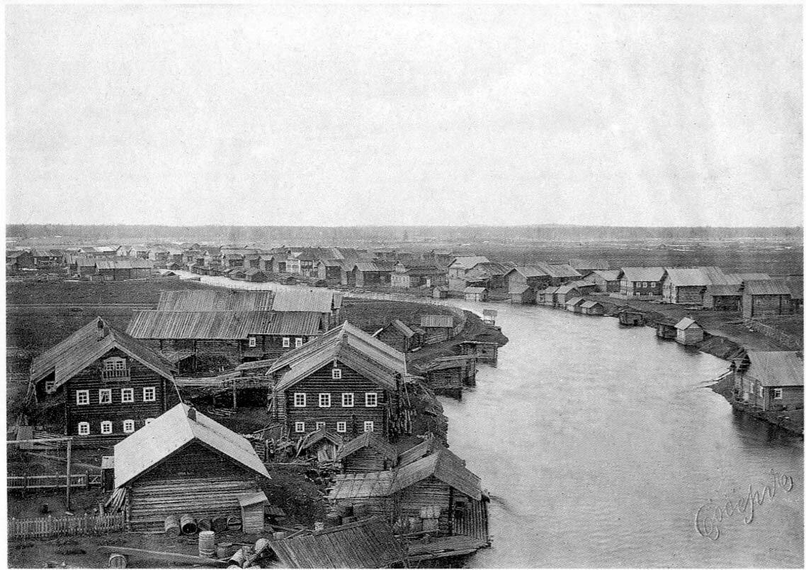 Архангельская губерния. Онежский уезд. Деревня Шелекса. 1910-е