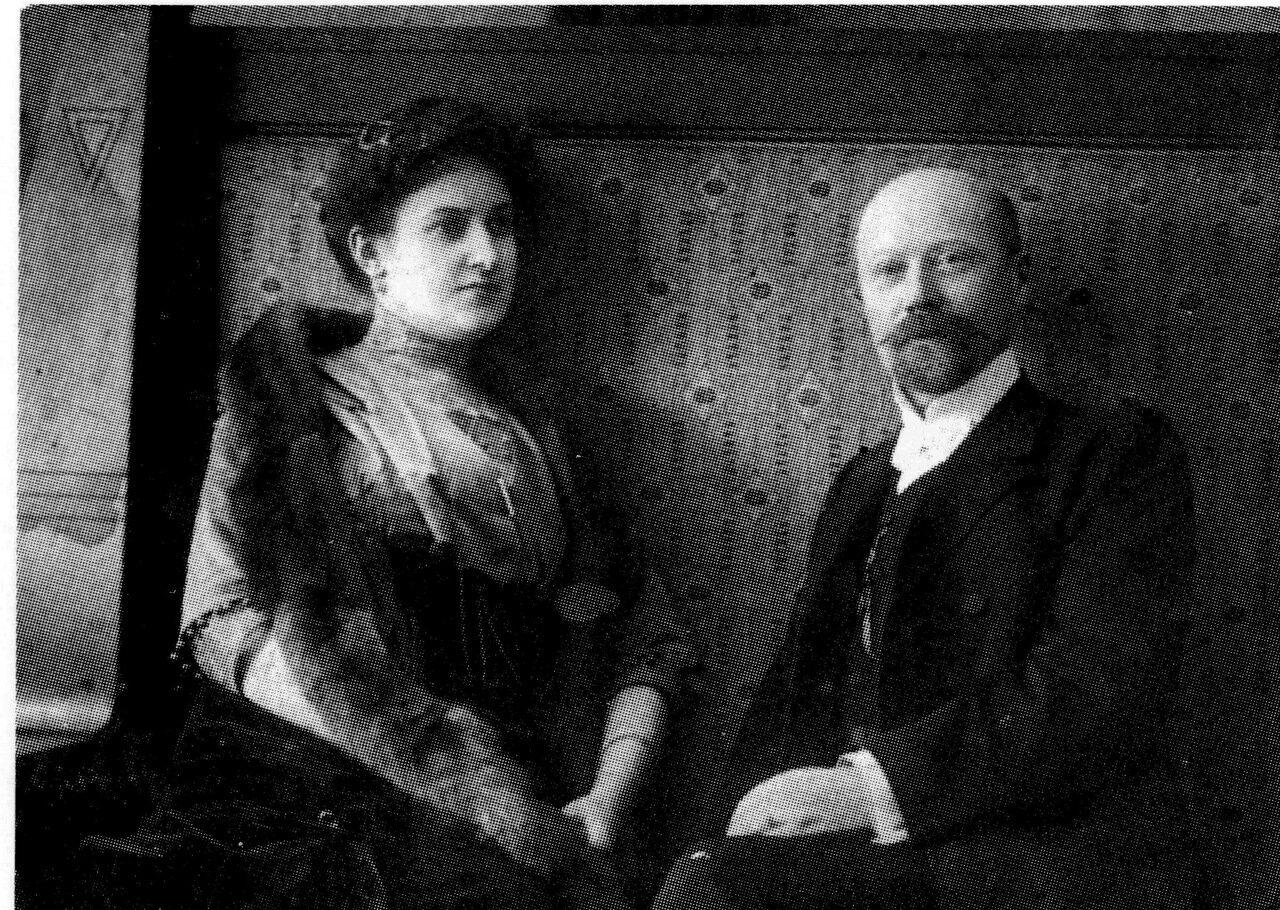 1900. М.А. Антипин с супругой