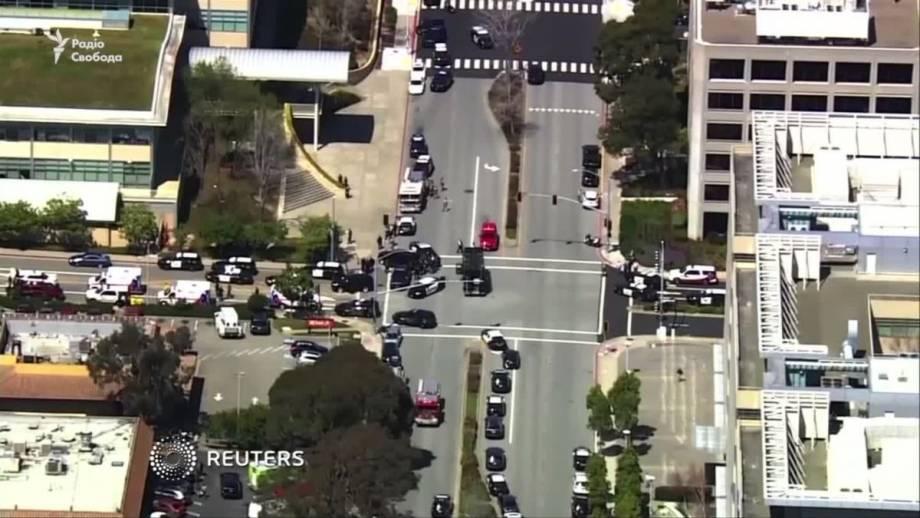 В штаб-квартире Youtube произошла стрельба (видео)