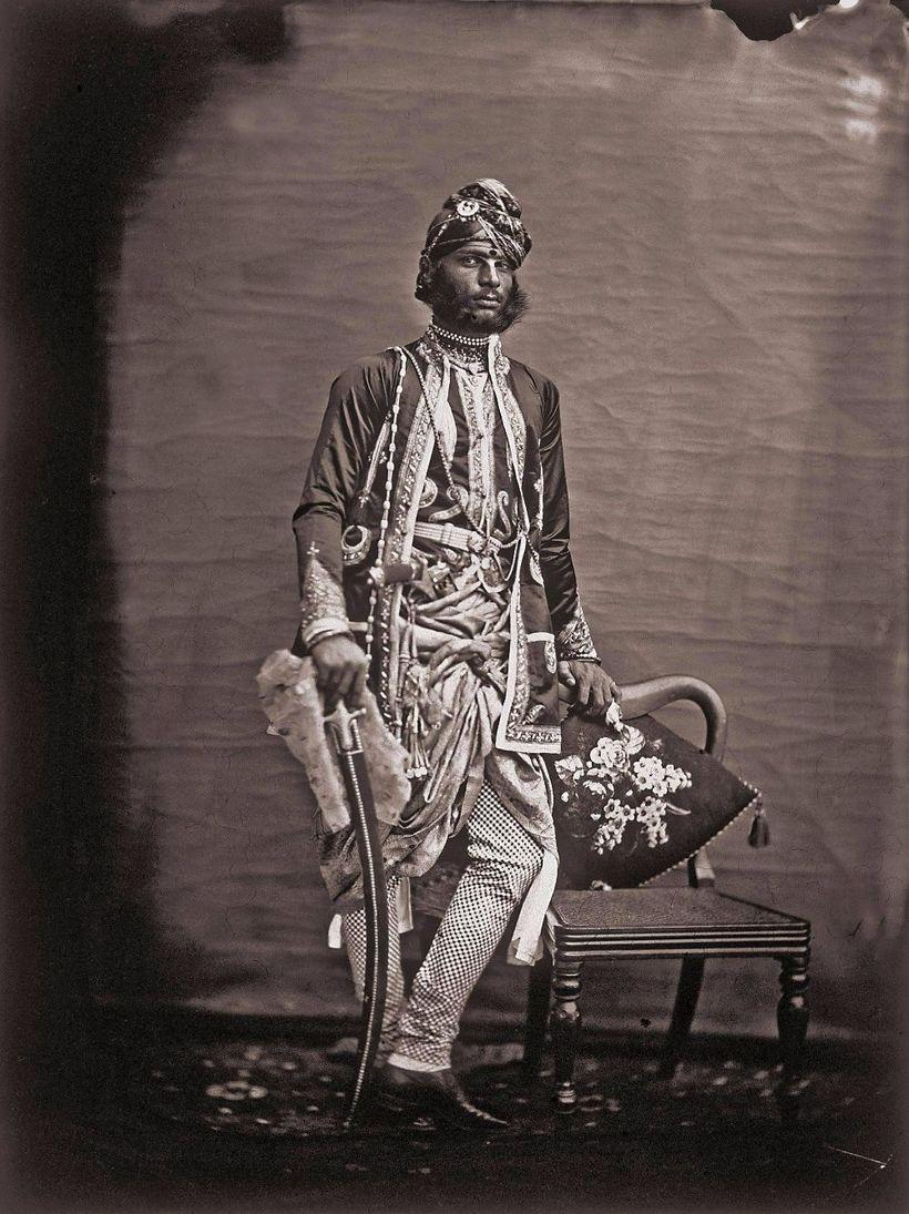 гарем жены Индия Махараджа слуги