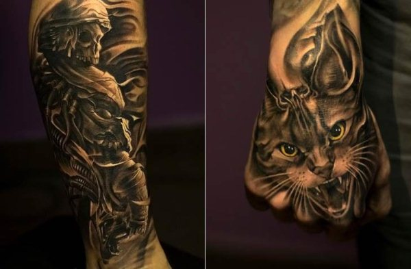 3D Tattoo Art - Victor Portugal