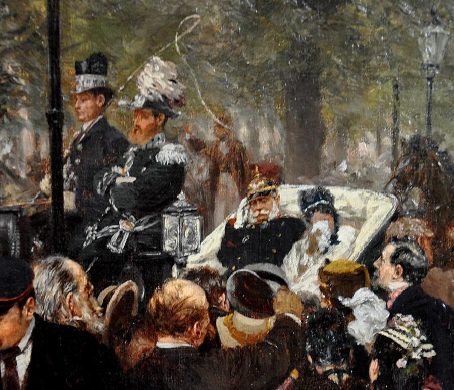 Выезд в армию короля Уильяма I. 31 июля 1870 года фрагмент.jpg