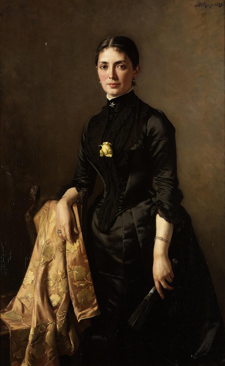 Portrait of a lady , 1889