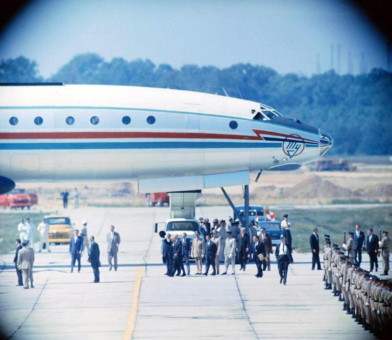 Как это было: визит Хрущева в Америку в 1959 году (21 фото)