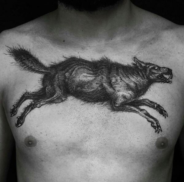 As tatuagens sombrias e incrivelmente detalhadas de Frederico Rabelo