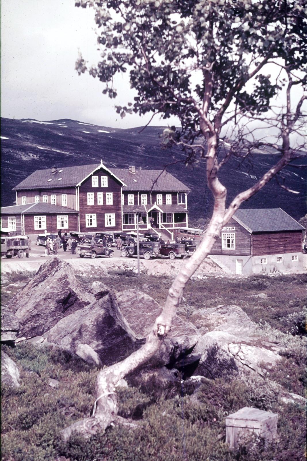 Гейрангер-фьорд. Отель