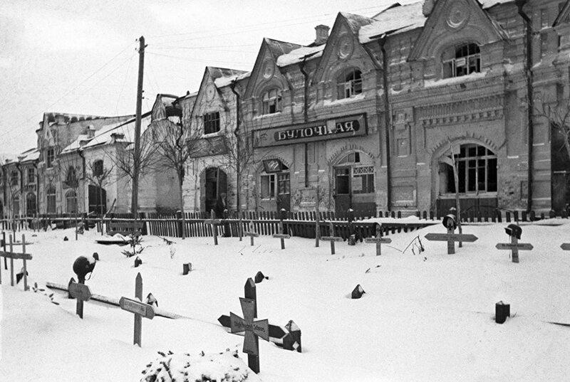 кладбища немецких солдат