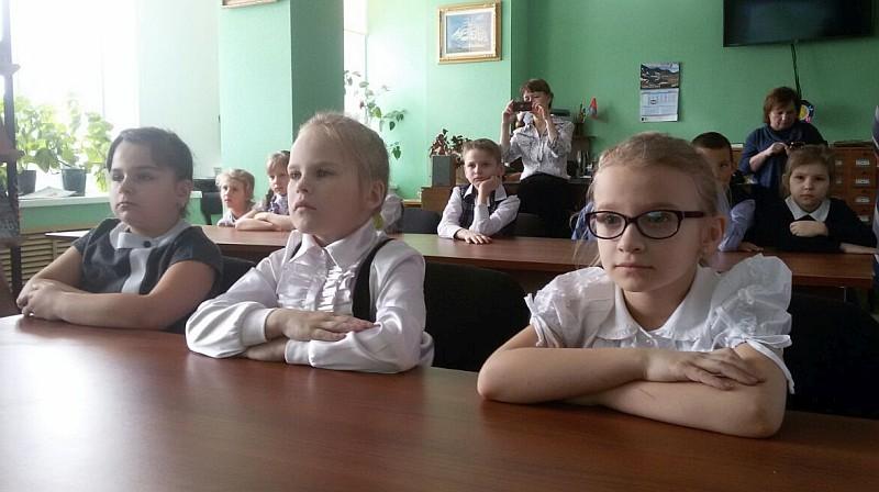 Специалисты заповедника «Магаданский» в селе Клепка провели заповедный урок  в рамках проекта «Библиотуризм»