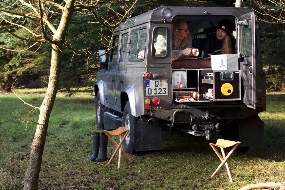 Дом на колесах в Land Rover Defender
