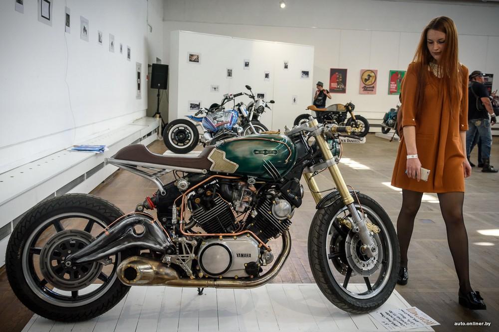 Фестиваль кастомных мотоциклов Recast Moto Fest в Минске