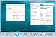 Windows 10 Professional & Enterprise 10.0.14393 Version 1607 [2 in 1] v1 [Ru]