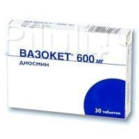 Вазокет [таблетки] цена в аптеках москвы, инструкция по применению.