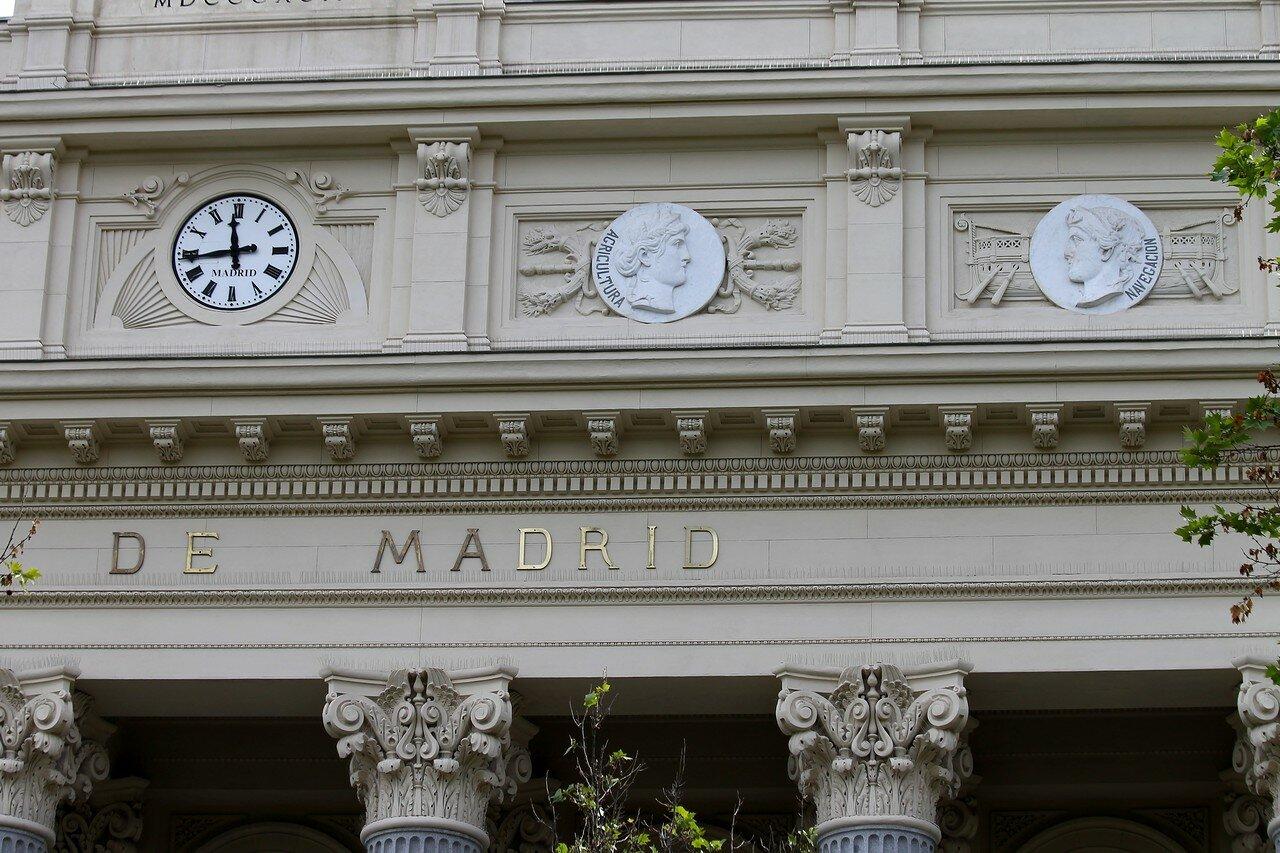 Мадрид. Дворец фондовой биржи (Palacio de la Bolsa de Madrid)