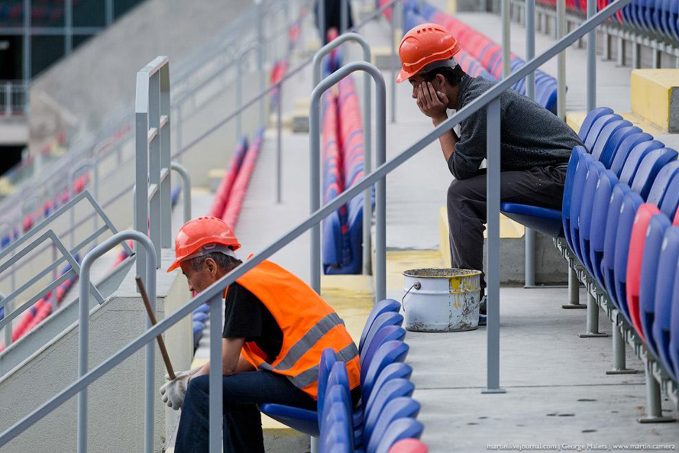20. В группе стадиона написано, что первый матч запланирован на 10 сентября. Состоится матч 6-г