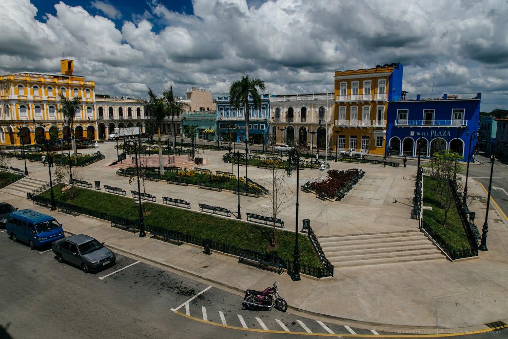 22. В наиболее удаленных от Гаваны городах бывают перебои с электричеством. Например, когда мы